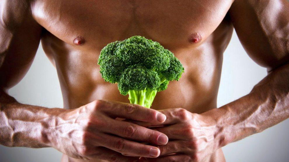 گیاه خواری عضله سازی رژیم