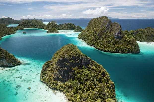 زیباترین سواحل اندونزی,جزایر Raja Ampat