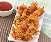 طرز تهیه یک غذای هندی خوشمزه به نام پیاز پاکودا