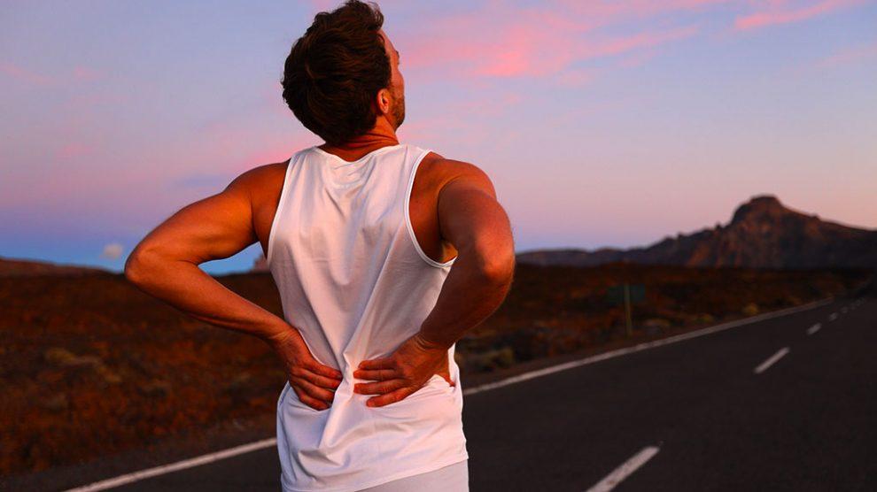 رفع گودی کمر با ورزش