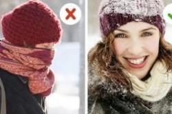 عادت های اشتباه در فصل زمستان