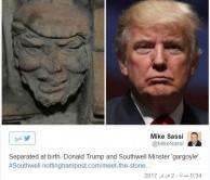 مجسمه 700 سال پیش ترامپ!+عکس