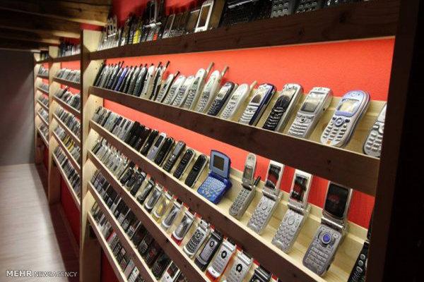 موزه موبایل های قدیمی