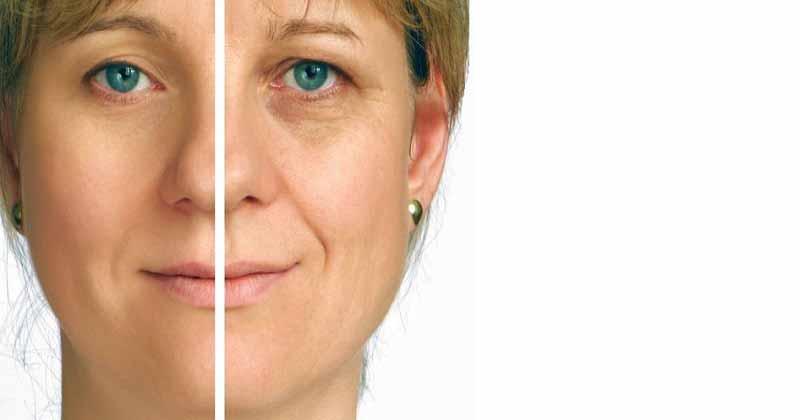 درمان چین و چروک پوست صورت با آب میوه طبیعی
