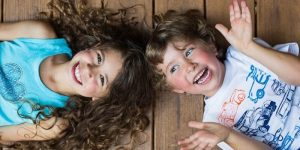 Curly Haired Kids