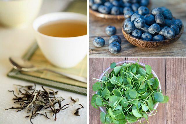 foodsغذاهای ضد پیری و چروک پوست