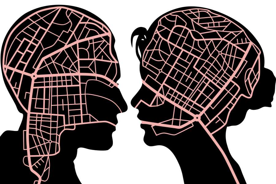 تفاوت مغز آقایان و خانم ها در چیست؟
