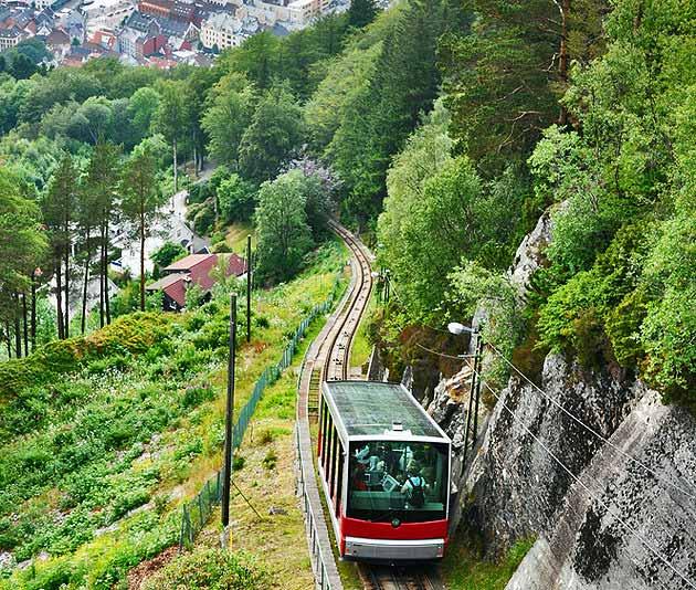 جاذبه های گردشگری برگن در نروژ