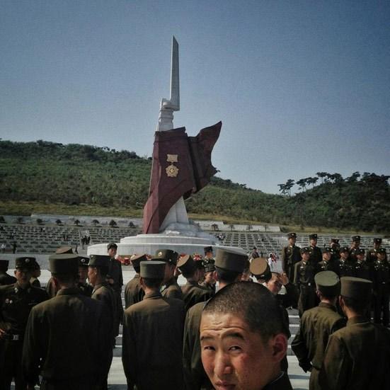 تصاویر دیدنی از ارتش کره شمالی