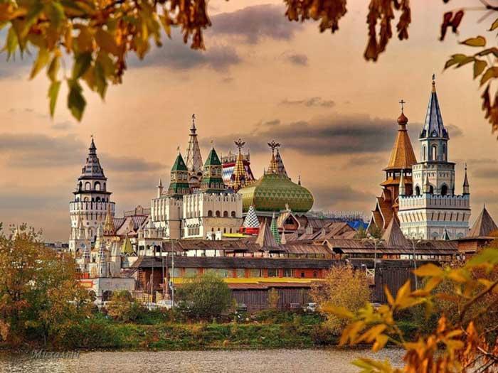 جاهای دیدنی مسکو روسیه - 10 مکان دیدنی در مسکو