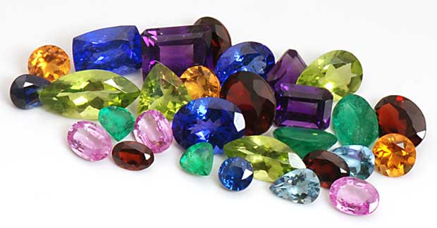 سنگ تراشی gemstone-colors