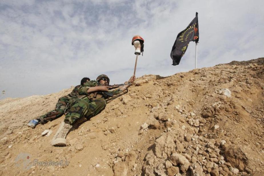 فریب داعش با مانکن
