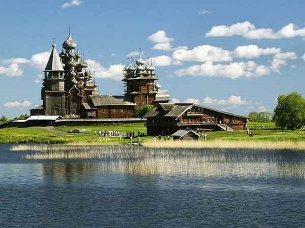 russia جزیره کیژی