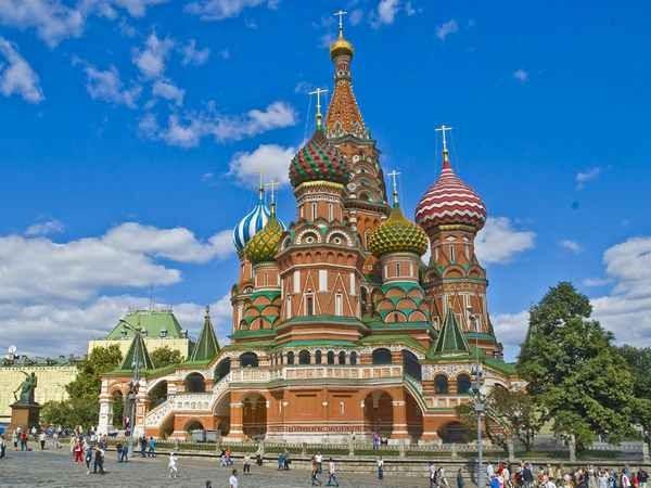 russia کلیسای سنت باسیل