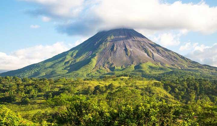 جاهای دیدنی کاستاریکا - آتشفشان آرنال-Arenal-Volcano