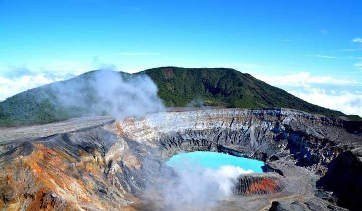 جاهای دیدنی کاستاریکا - آتشفشان پواس-Poas-Volcano