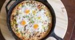 طرز تهیه پیتزای صبحانه خانگی
