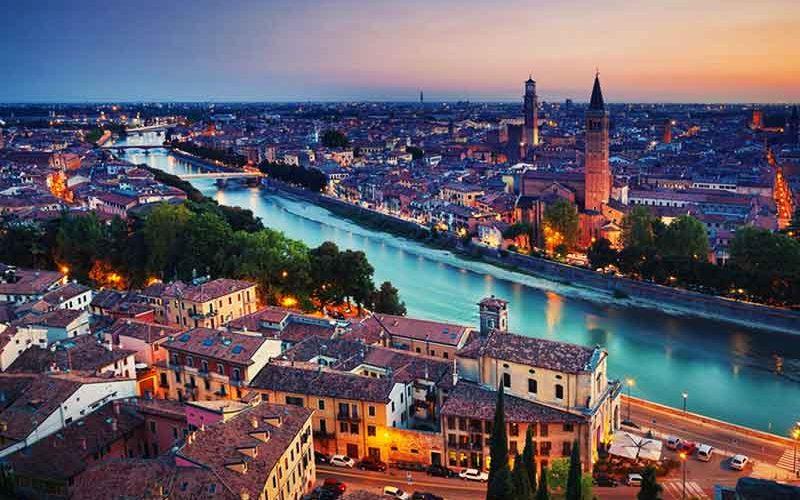 جاهای دیدنی اطراف شهر ونیز در ایتالیا