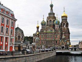 7 کلیسای زیبای سن پترزبورگ روسیه