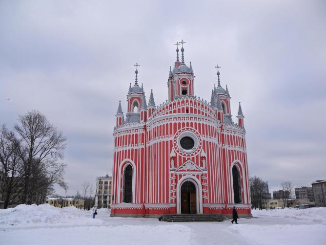زیباترین کلیساها در سنت پترزبورگ