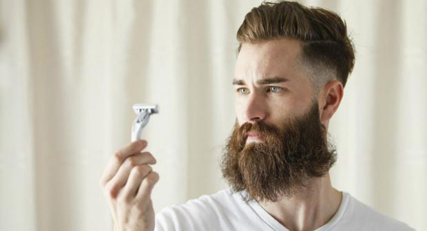 تراشیدن ریش mens-shave-off-beard