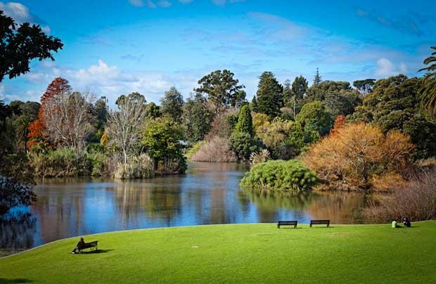 جاهای دیدنی ملبورن - باغ سلطنتی گیاهی-royal_botanic_gardens_melbourne