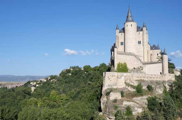 قلعه های اسپانیا,قلعه مادرید,آلکازار سگویا-segovia