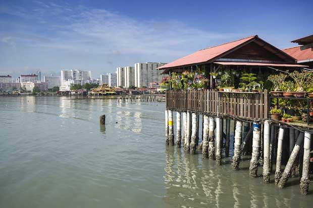 جاهای دیدنی جزیره پنانگ مالزی,اسکله چو-chew_jetty
