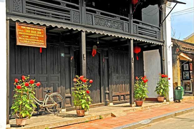 جاهای دیدنی شهر هوی آن Hoi An در ویتنام,خانه قدیمی phun hung