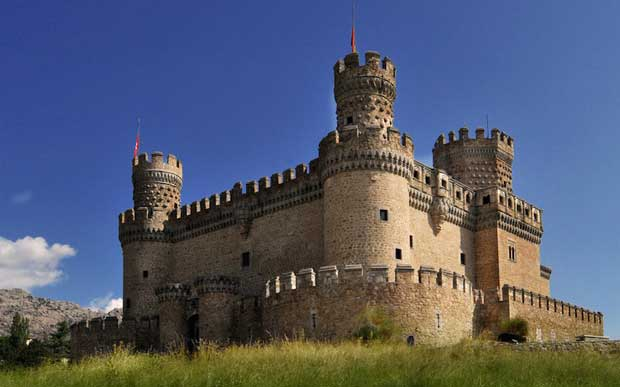 قلعه جدید Manzanares el Real-new_castle_of_manzanares_el_real