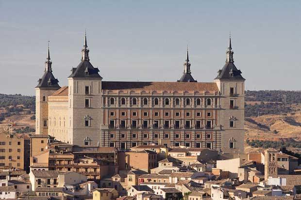 قلعه های اسپانیا,قلعه مادرید,آلکازار تولدو-alcazar_of_toledo