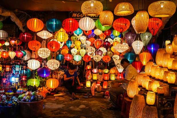 جاهای دیدنی شهر هوی آن Hoi An در ویتنام,بازار شبHoi An