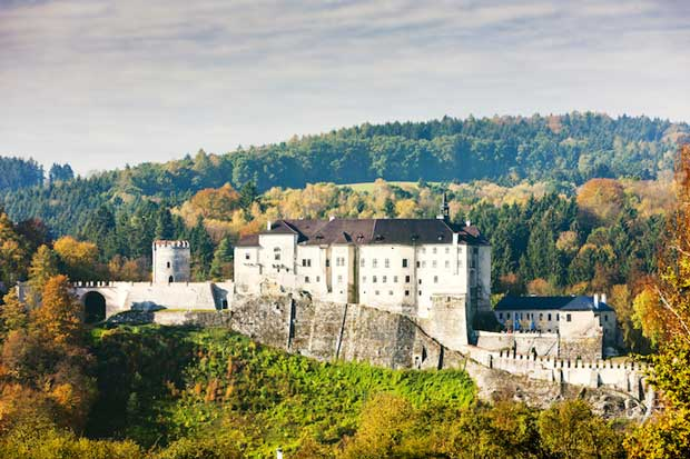 قلعه Cesky Sternberk