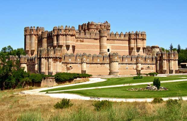 قلعه های اسپانیا,قلعه مادرید,قلعه کوکا-coca_castle
