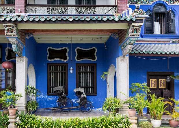 جاهای دیدنی جزیره پنانگ مالزی,عمارت چئونگ Fatt تی ز