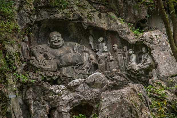 معابد چین,زیباترین معبدهای چینی,معبد لینگین-lingyin_temple