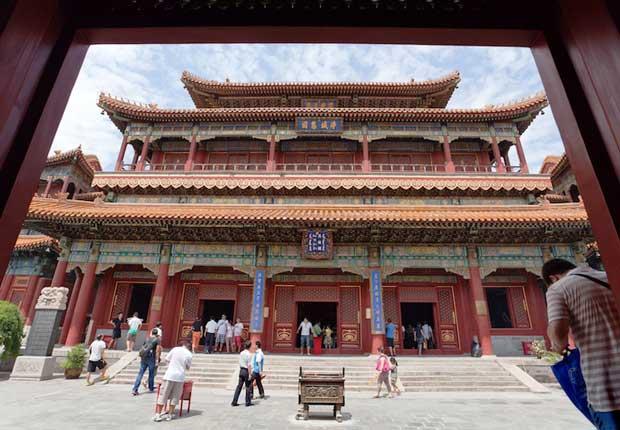 معابد چین,زیباترین معبدهای چینی,معبد لاما-lama_temple