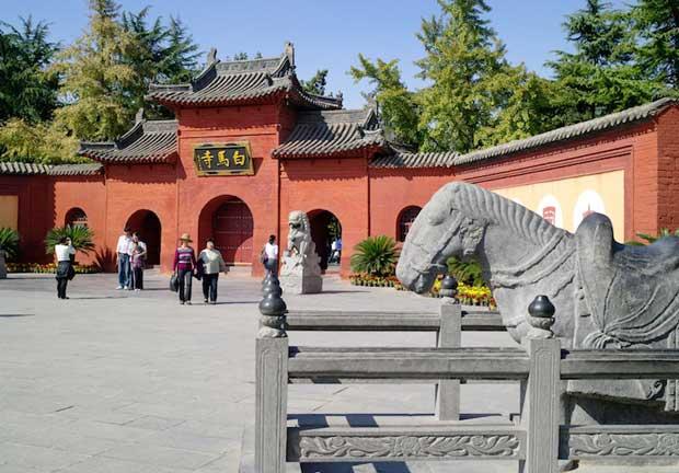 معابد چین,زیباترین معبدهای چینی,معبد اسب سفید-white_horse_temple