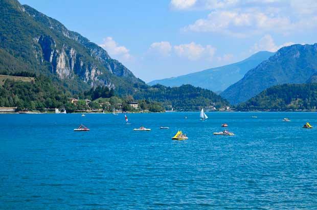 دیدنیهای ایتالیا,دریاچه لدر-lake_ledro