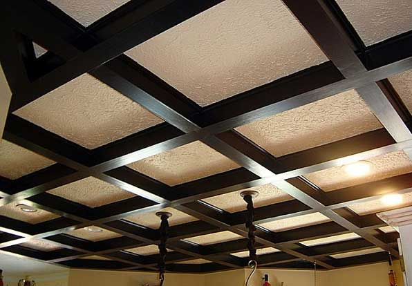 Dropped-ceiling سقف کاذب