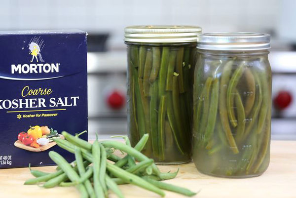 طرز تهیه ترشی لوبیا سبز خوشمزهGreen beans pickle