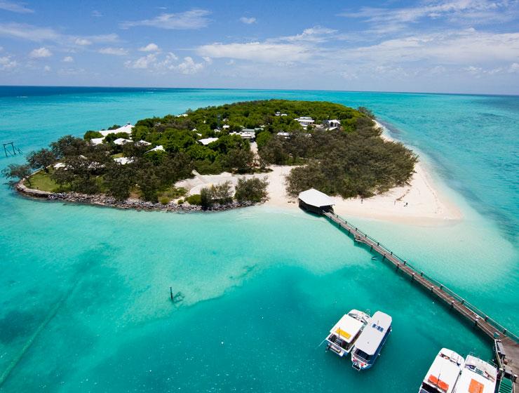 فهرست جزایر مرجانی استرالیا Heron Island