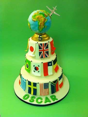 کیک تولد در کشورهای مختلف