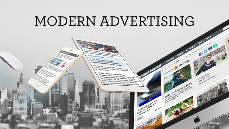 mordern_advertising انواع تبلیغات مدرن