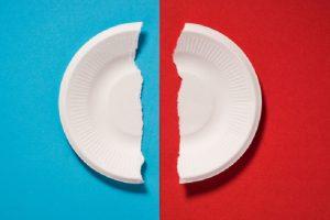 Broken Paper Plate