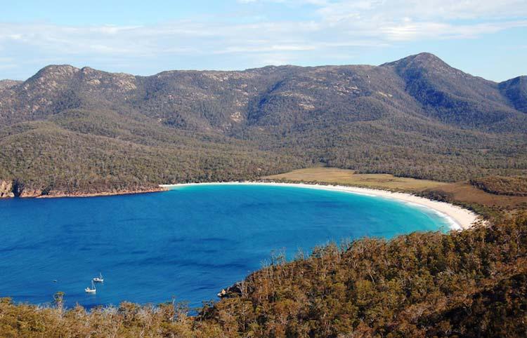 جزایر استرالیا در جدول