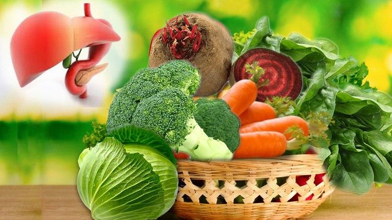 رژیم سم زدایی کبد vegetables