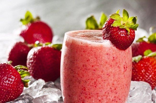 راههای افزایش اشتهای طبیعیStrawberry juice