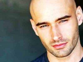 good looking bald
