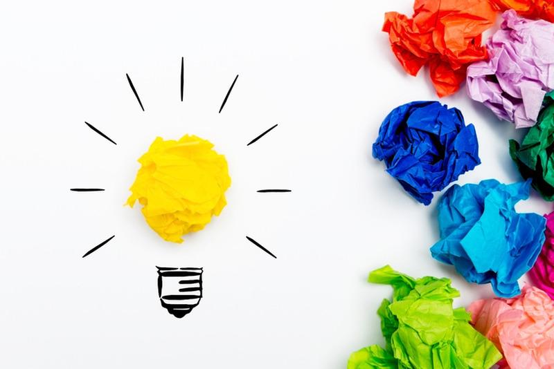 light bulb crumpled paperراههای یادگیری سریع